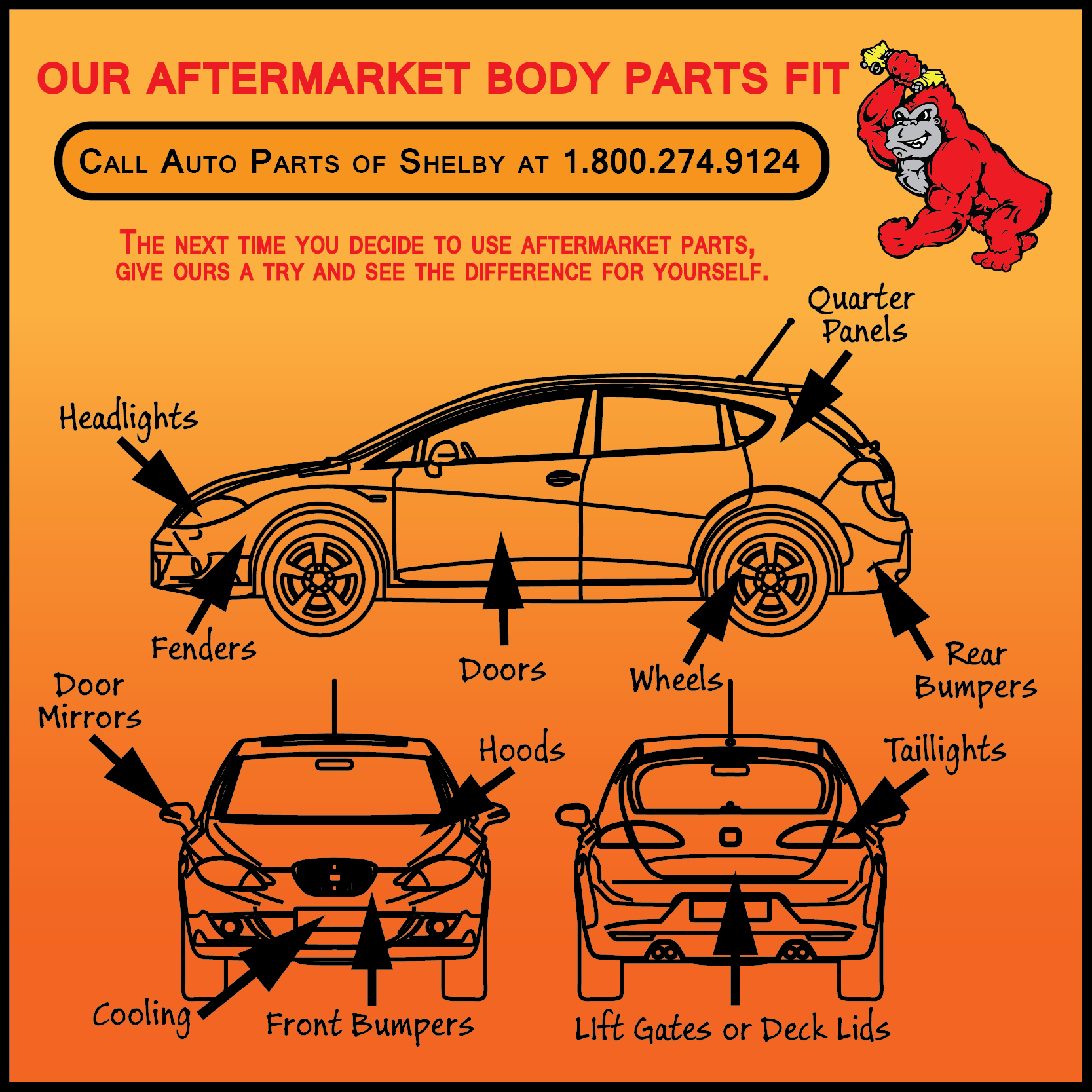 Aftermarket Body Parts For Salee ⋆ Auto Parts Of